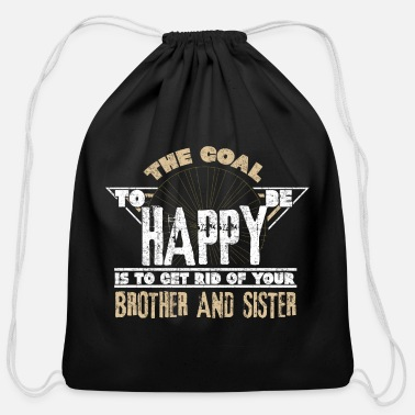 Siblings Siblings - Cotton Drawstring Bag