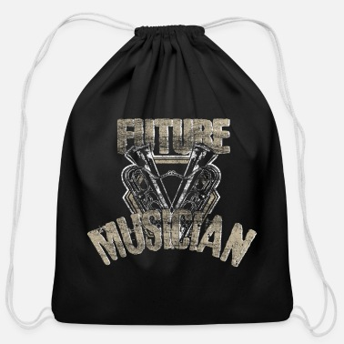 Electro Music Musician Sound gift idea - Cotton Drawstring Bag
