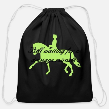 Dressage dressage - Cotton Drawstring Bag