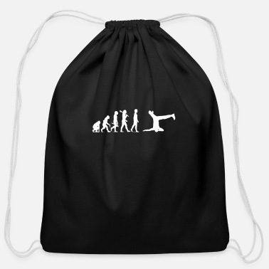 Break Dance break dancing - Cotton Drawstring Bag