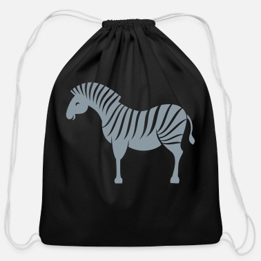 Zebra zebra - Cotton Drawstring Bag