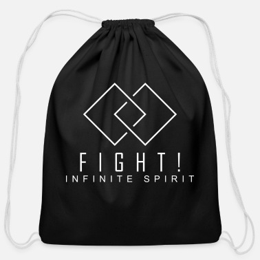 Fight. Infinite Spirit (Fight The Cancer) - Cotton Drawstring Bag