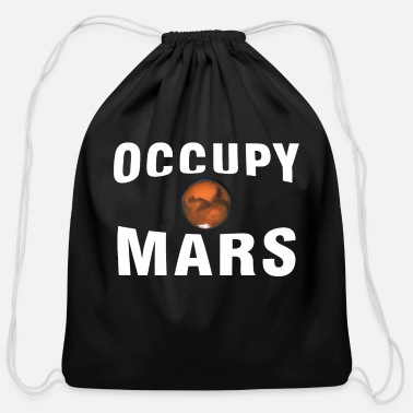 Occupy Occupy Mars - Cotton Drawstring Bag