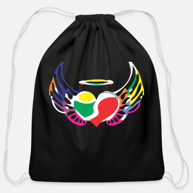 Angle Angle - Cotton Drawstring Bag