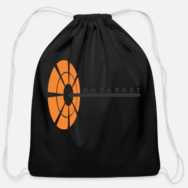 Target On Target - Cotton Drawstring Bag