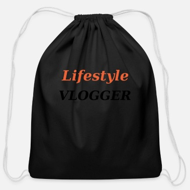 Vlogger Lifestyle Vlogger - Cotton Drawstring Bag