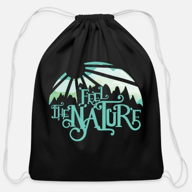 Nature Collection Feel the nature - Cotton Drawstring Bag