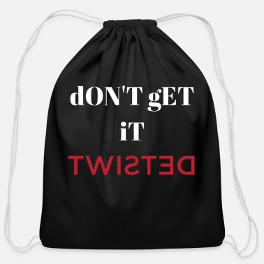 Twisted - Cotton Drawstring Bag