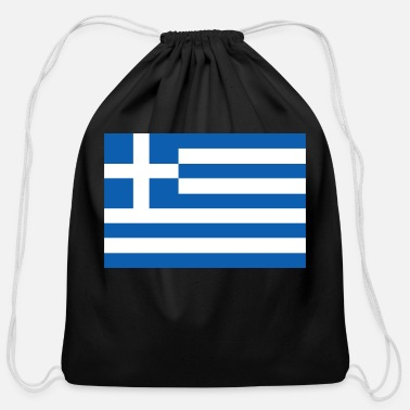 Greece greece - Cotton Drawstring Bag