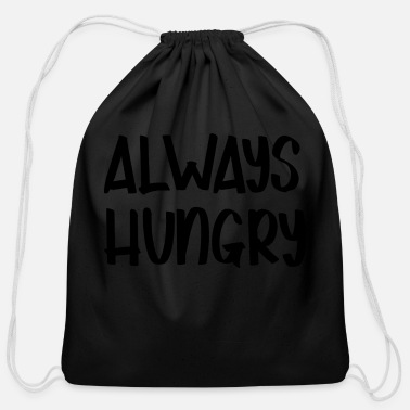 Hungry HUNGRY - Cotton Drawstring Bag
