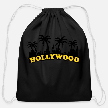 Hollywood hollywood - Cotton Drawstring Bag
