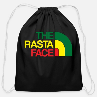 Rasta Rasta Face - Cotton Drawstring Bag