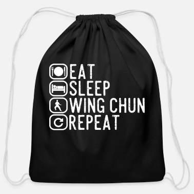 Occasion Wing Chun spell gift - Cotton Drawstring Bag