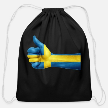 Sweden sweden - Cotton Drawstring Bag