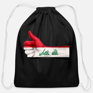 Iraq iraq - Cotton Drawstring Bag
