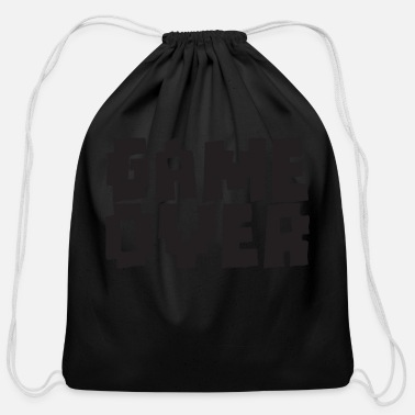 Game Over GAME OVER - Cotton Drawstring Bag