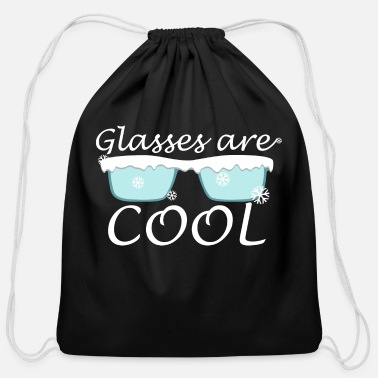 Glasses are Cool - Cotton Drawstring Bag