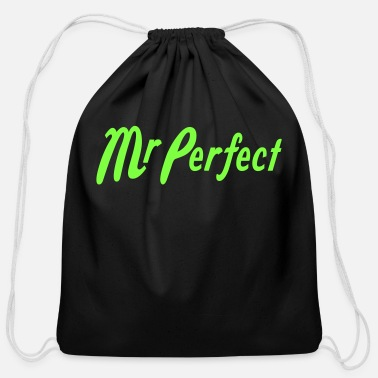 Perfect Mr Perfect - Cotton Drawstring Bag