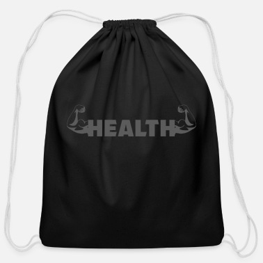 Health health - Cotton Drawstring Bag
