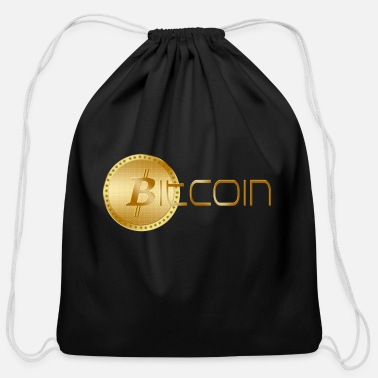 We Are The 99 Percent BITCOIN - Cotton Drawstring Bag