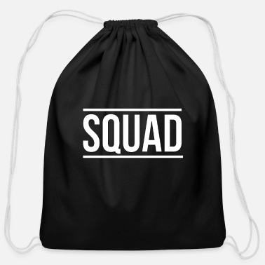 Squad -SQUAD- - Cotton Drawstring Bag