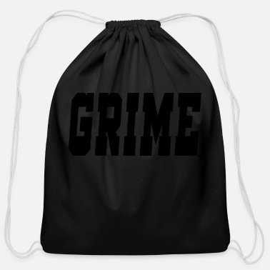 Grime grime - Cotton Drawstring Bag