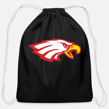 Soar DARE TO SOAR .... SOARING EAGLE - Cotton Drawstring Bag