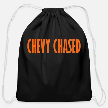 Chevy chevy chased - Cotton Drawstring Bag