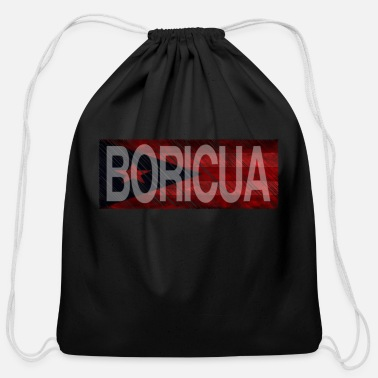 Boricua Boricua by HarryCornier - Cotton Drawstring Bag
