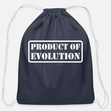Production Year Product Of Evolution - Cotton Drawstring Bag