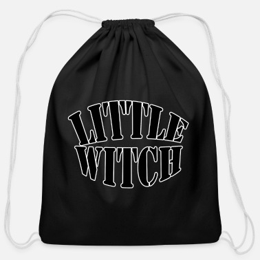 Witch Attitude little witch - Cotton Drawstring Bag