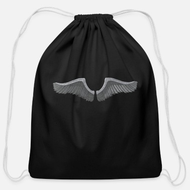 Wing Wing - Cotton Drawstring Bag
