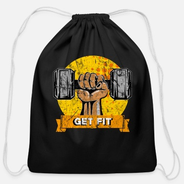Sports Sports Gym Fitness Gift Idea - Cotton Drawstring Bag