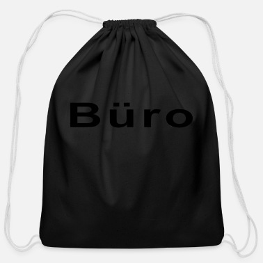 Office Office - Cotton Drawstring Bag