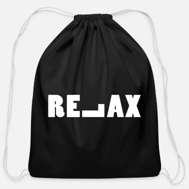 Relax Relax - Cotton Drawstring Bag