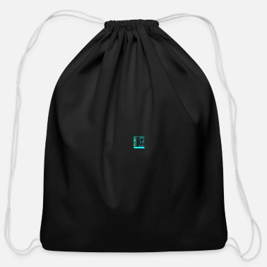 Strip Las Vegas - emblem - female body - Cotton Drawstring Bag