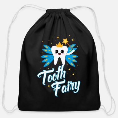 Tooth Cute Tooth Fairy Gift - Cotton Drawstring Bag