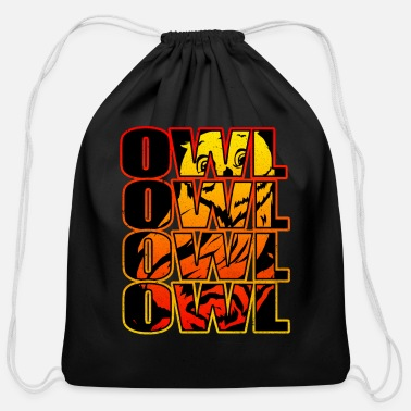 Owl Owl - Cotton Drawstring Bag