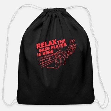 Bassist Bassist - Cotton Drawstring Bag
