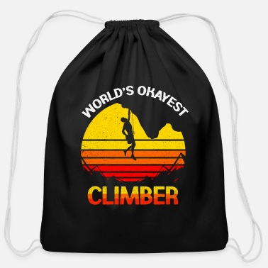 Climber Climber - Cotton Drawstring Bag