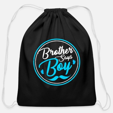 Reveal Gender Reveal - Cotton Drawstring Bag