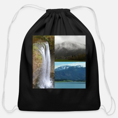 Landscape Landscape - Cotton Drawstring Bag