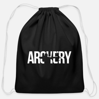 Archery archery - Cotton Drawstring Bag