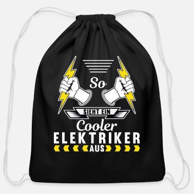 Dark HIGH QUALITY VECTOR IMAGE APPLICABLE FOR DARK COLO - Cotton Drawstring Bag
