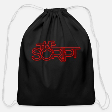 Script The Script - Cotton Drawstring Bag