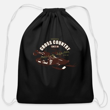 Cross Country CROSS COUNTRY - Cotton Drawstring Bag