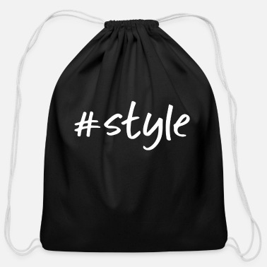 Style #style - Cotton Drawstring Bag