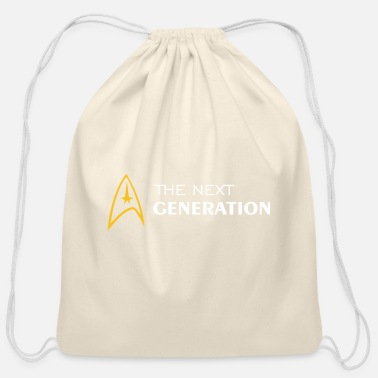 Next Generation Startrek The Next Generation Version 1 - Cotton Drawstring Bag