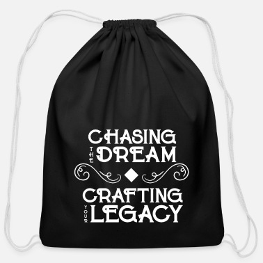 Chase Chase the Dream - Cotton Drawstring Bag