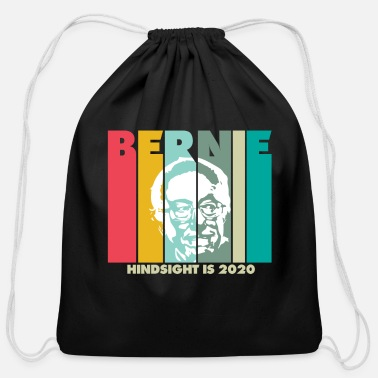 Birdie Vintage Bernie Hindsight Is 2020 - Cotton Drawstring Bag